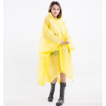 Cycling Purple Girls Rain Poncho